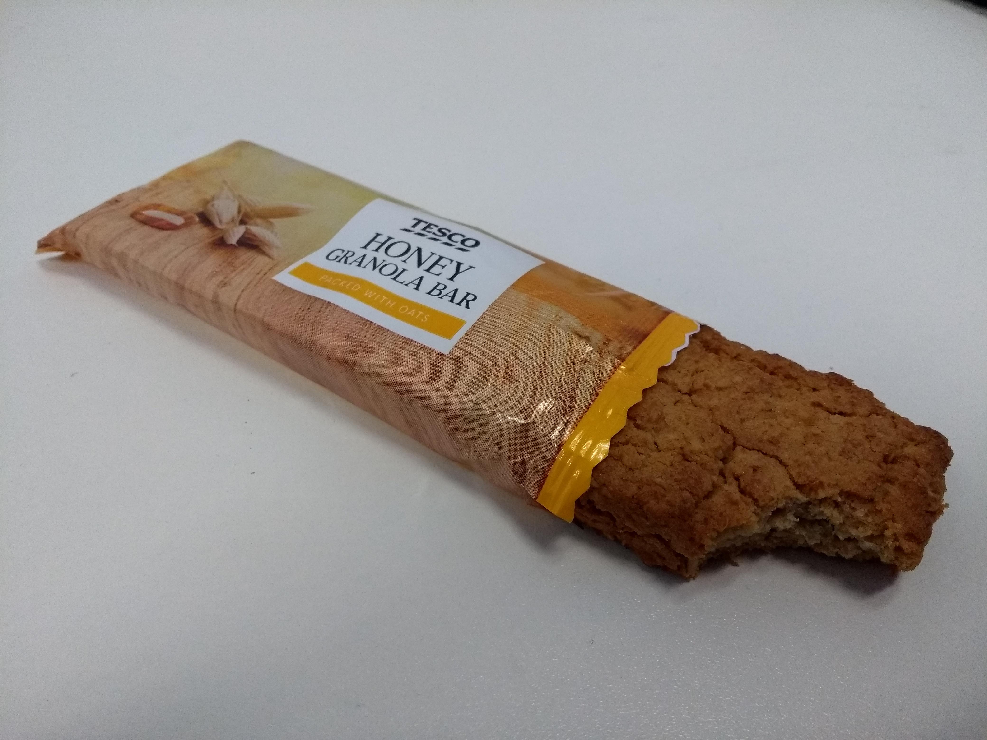 Tesco Honey Granola bar