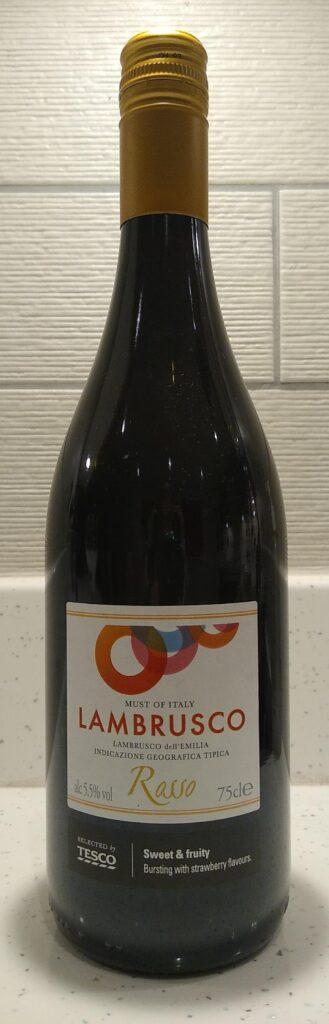 Lambrusco Rosso bottle front