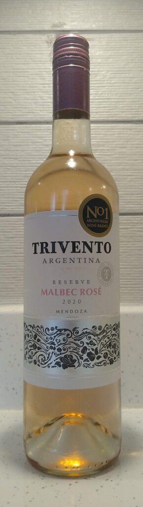 Trivento Malbec Rosé bottle front