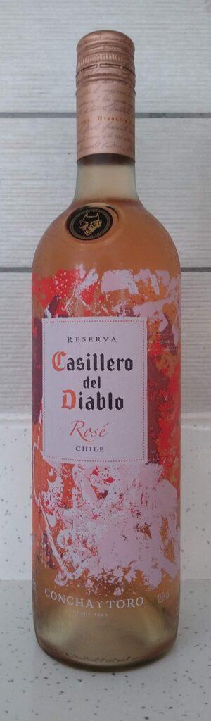Casillero del Diablo Rose bottle front